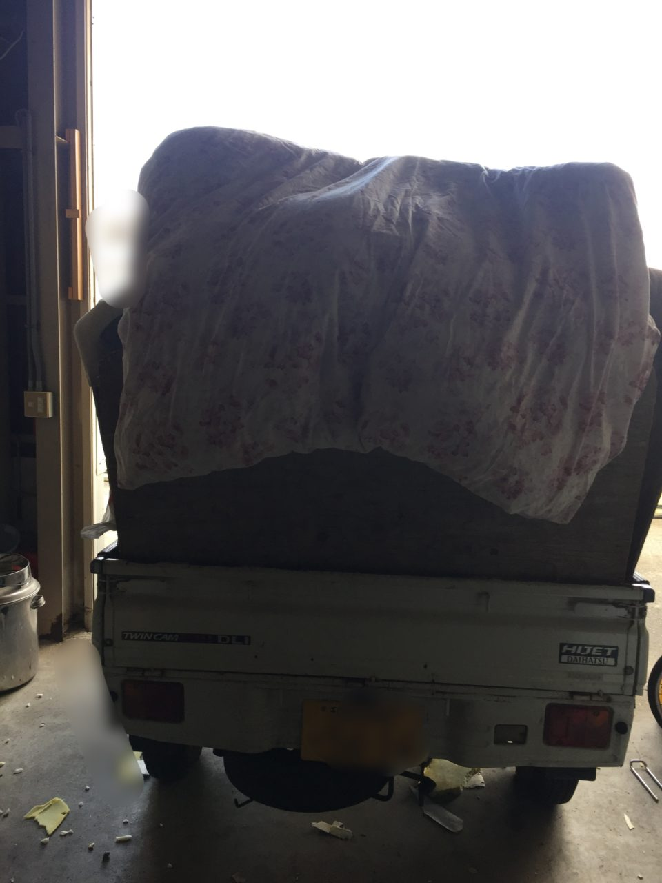 和歌山県和歌山市にて工場内の残留物撤去作業のお手伝いをさせていただきました